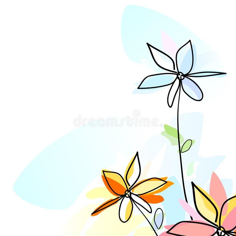 Bloemen vector illustratie