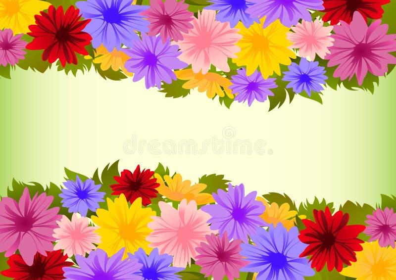 Bloemen 14 stock illustratie