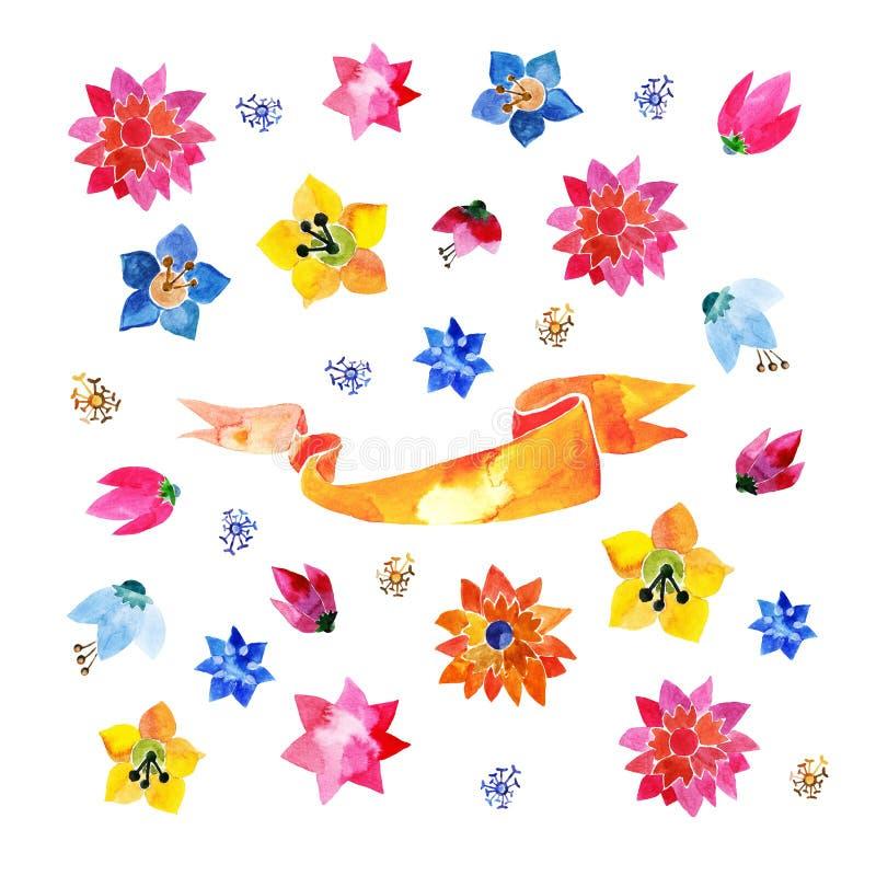 Download Bloemen vector illustratie. Illustratie bestaande uit bloemen - 54090168