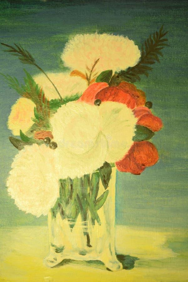 Bloemen 1 stock illustratie