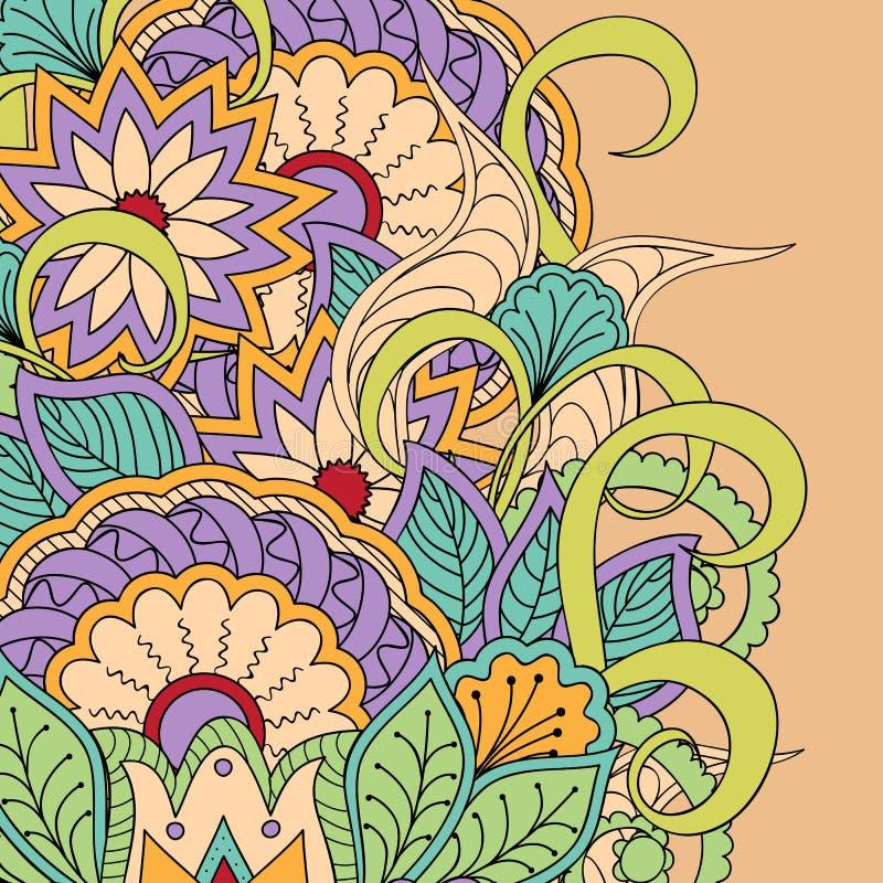 Bloemen 14 royalty-vrije illustratie