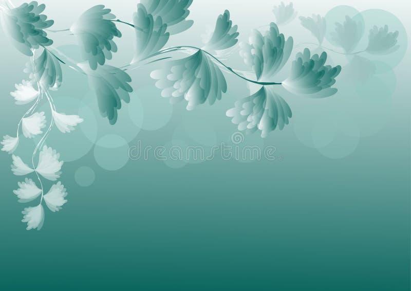 Bloemen abstracte achtergrond. EPS10. vector illustratie