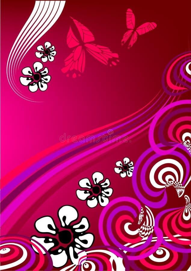 Download Bloemen achtergrond vector illustratie. Illustratie bestaande uit vrolijk - 10775968