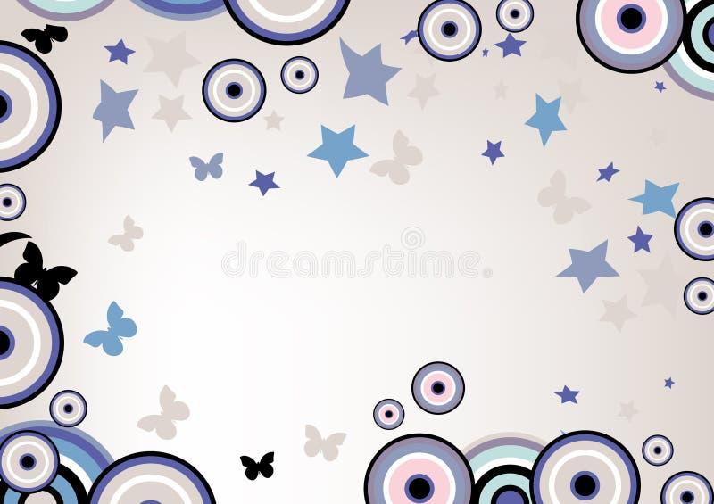 Download Bloemen achtergrond vector illustratie. Illustratie bestaande uit krullend - 10775987