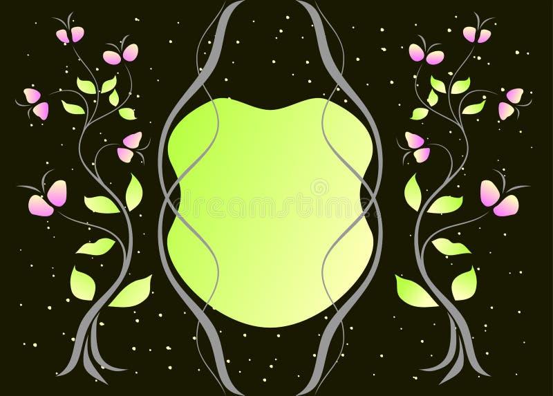 Download Bloemen achtergrond vector illustratie. Illustratie bestaande uit bloem - 10778728