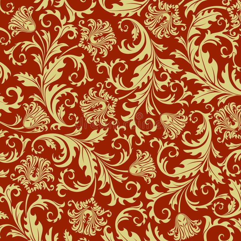 Bloemen achtergrond. vector illustratie