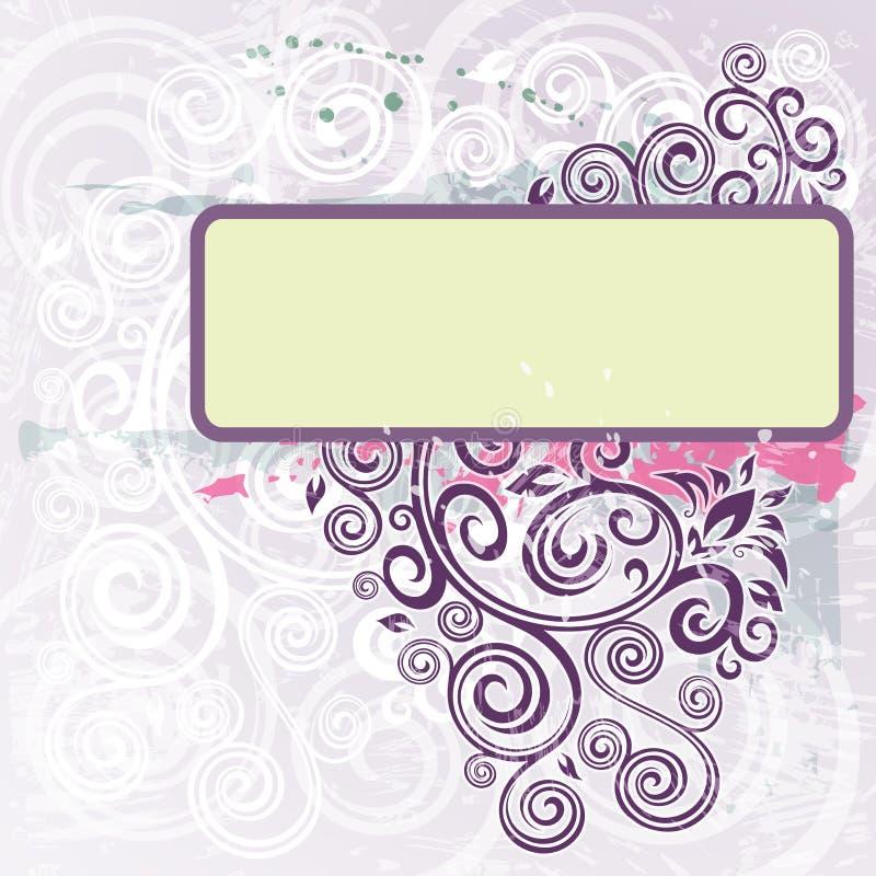 Download Bloemen achtergrond vector illustratie. Illustratie bestaande uit wijnoogst - 54087220