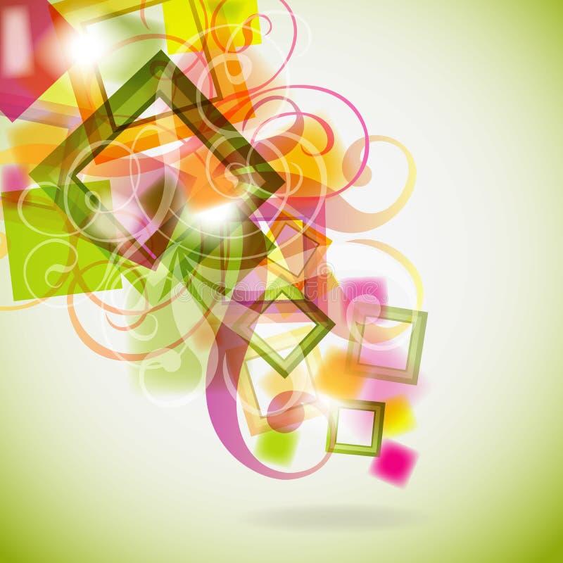 Bloemen achtergrond, eps10 vector illustratie