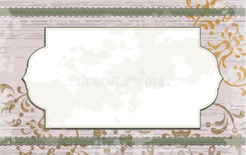 Download Bloemen Achtergrond Met Wit Frame Stock Illustratie - Illustratie bestaande uit decoratie, bloei: 29506011