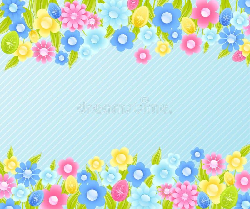 Bloemen achtergrond voor Pasen.