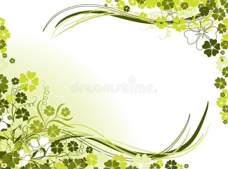 Bloemen achtergronden, vector royalty-vrije illustratie