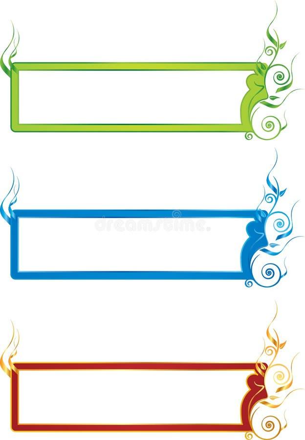 Download Bloemen banner stock afbeelding. Afbeelding bestaande uit samenvatting - 29513435