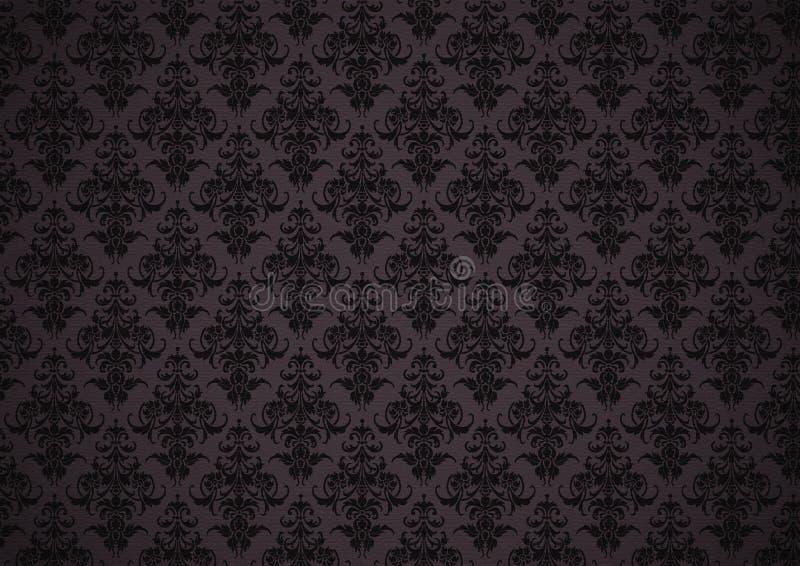 Bloemen behang royalty vrije stock afbeelding afbeelding - Motif tapisserie ...
