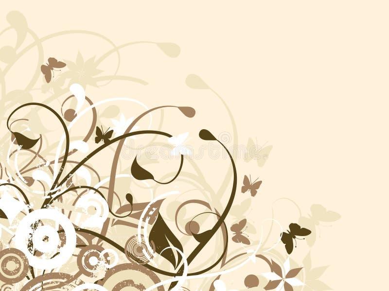 Bloemen chaos vector illustratie