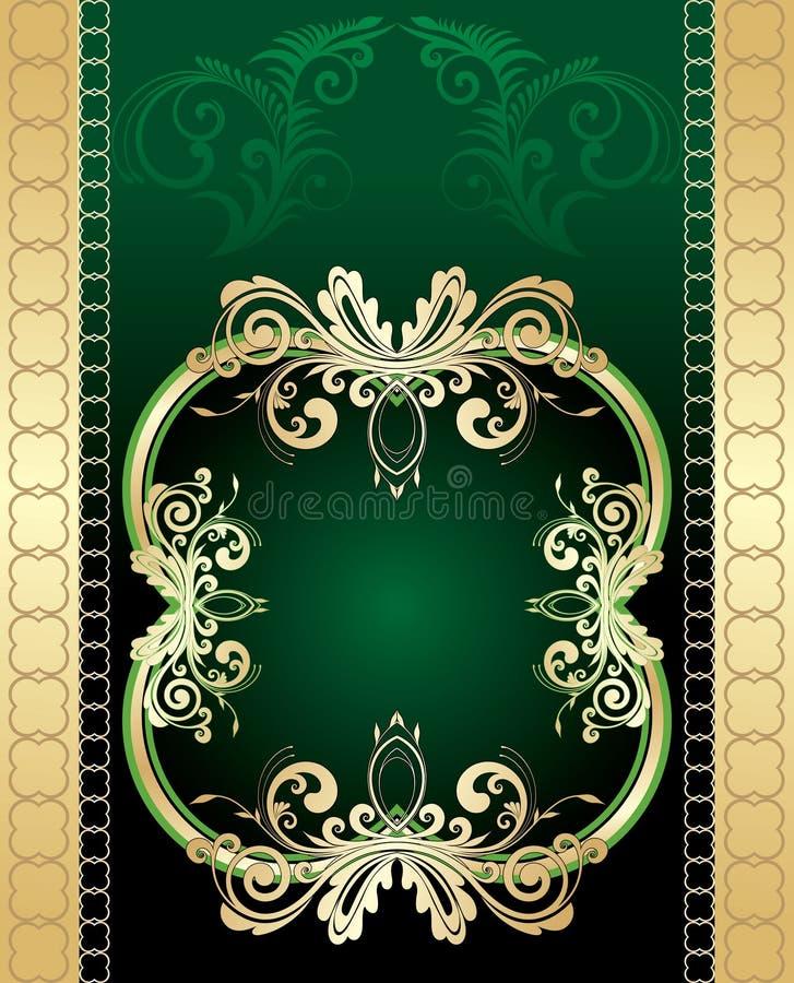 Bloemen creatief ontwerp stock illustratie