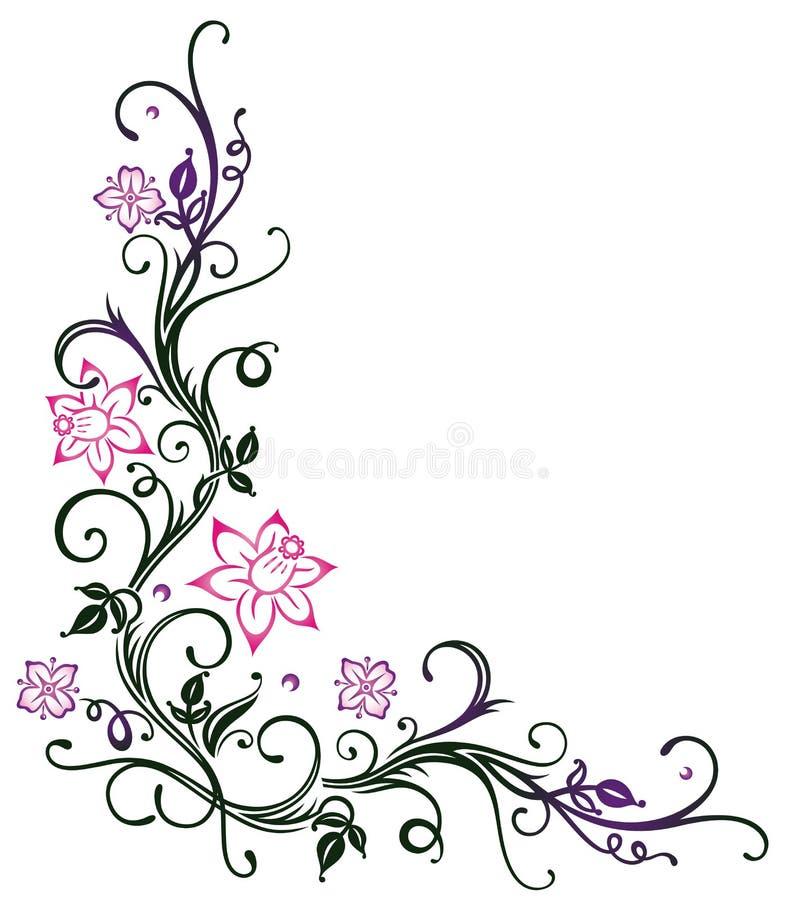 Bloemen, de lente stock illustratie