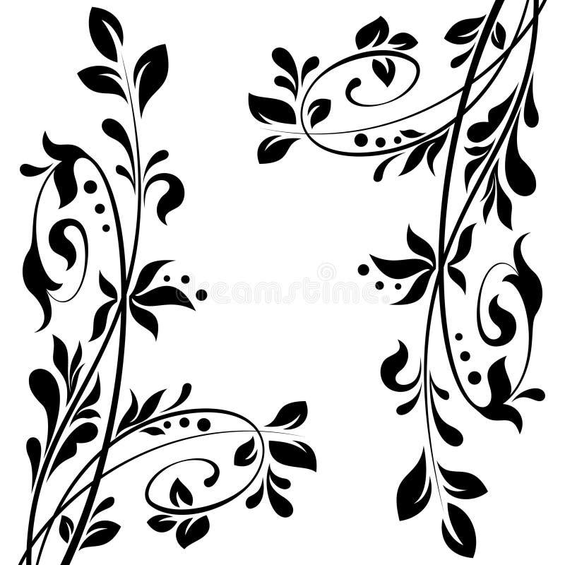 Bloemen decoratie royalty vrije stock afbeeldingen for Bloemen decoratie