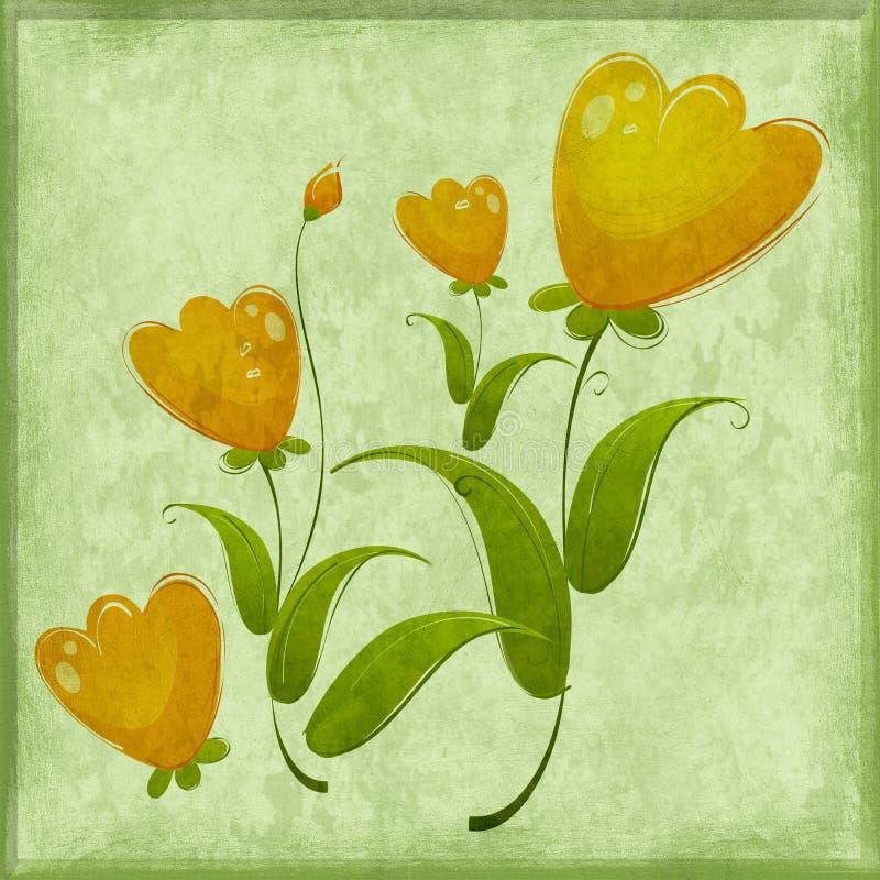 Bloemen dromen royalty-vrije stock foto