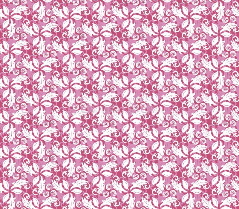 Bloemen Fijn Naadloos Patroon vector illustratie