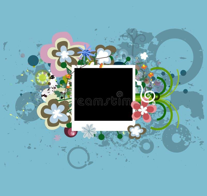 Bloemen Foto vector illustratie