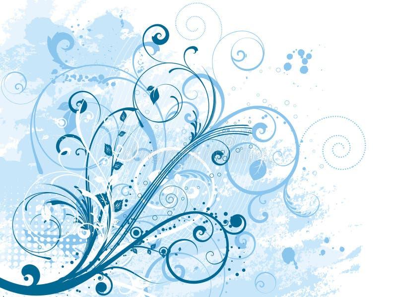Bloemen grunge vector illustratie