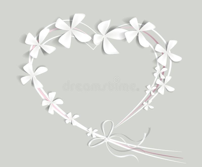 Download Bloemen hart vector illustratie. Illustratie bestaande uit gift - 29510015