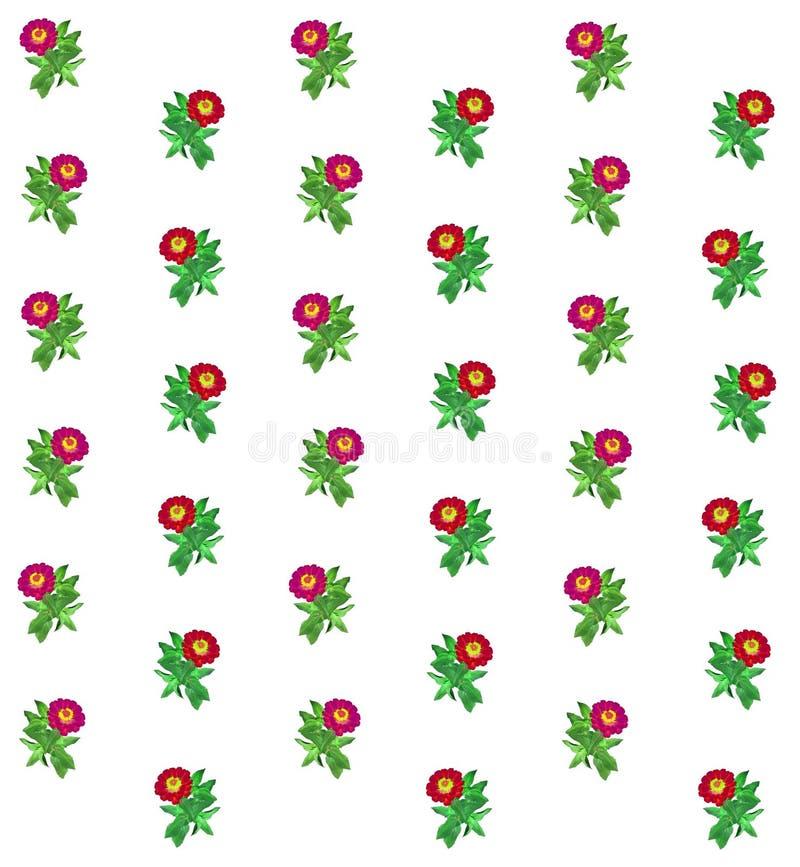 Bloemen kleurrijke patroonachtergrond stock afbeeldingen