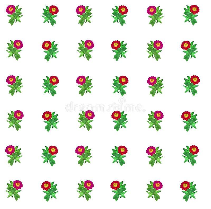 Bloemen kleurrijke patroonachtergrond stock foto