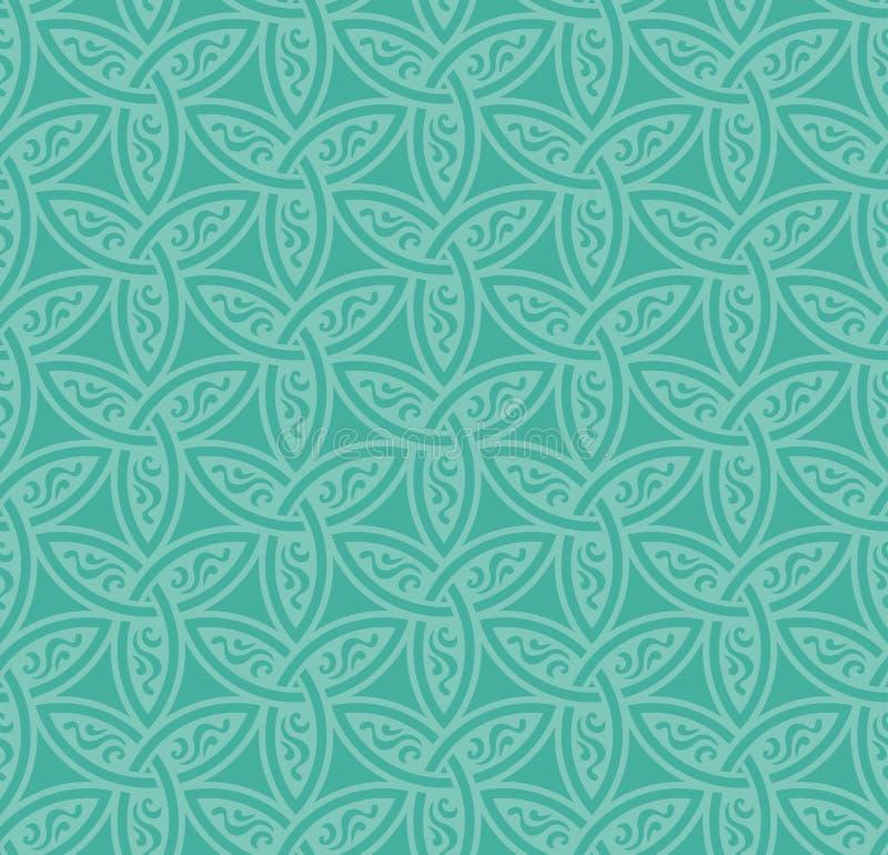 Bloemen naadloze achtergrond vector illustratie