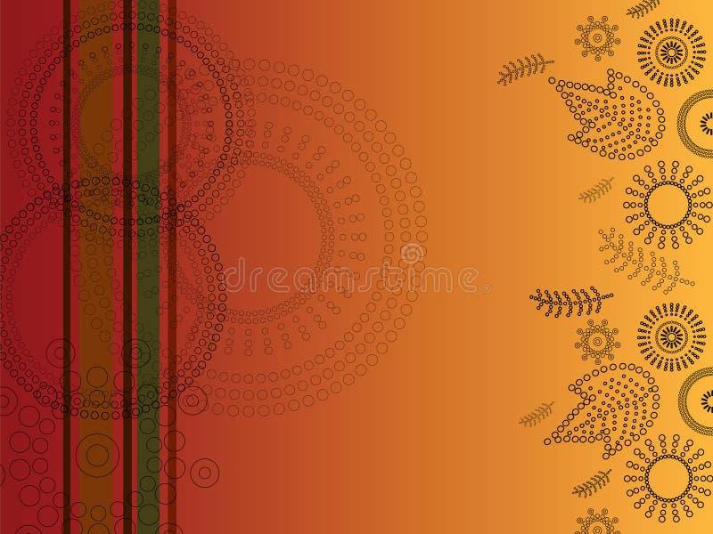 Bloemen ontwerp (vector) royalty-vrije illustratie