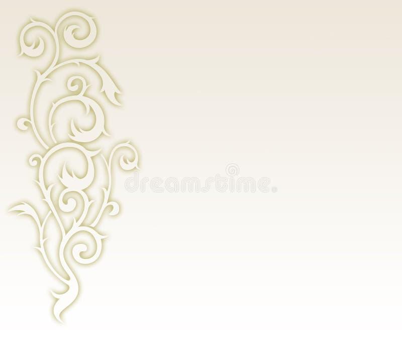 Bloemen ontwerpelement als achtergrond vector illustratie