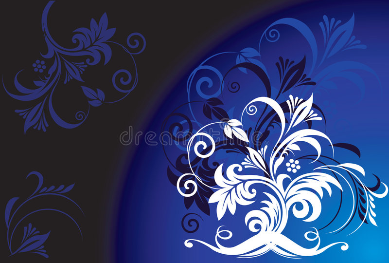 Bloemen ontwerpen stock illustratie