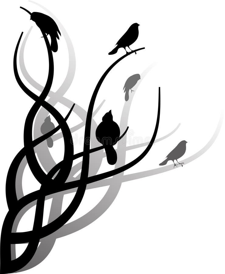 Bloemen ornament vector illustratie