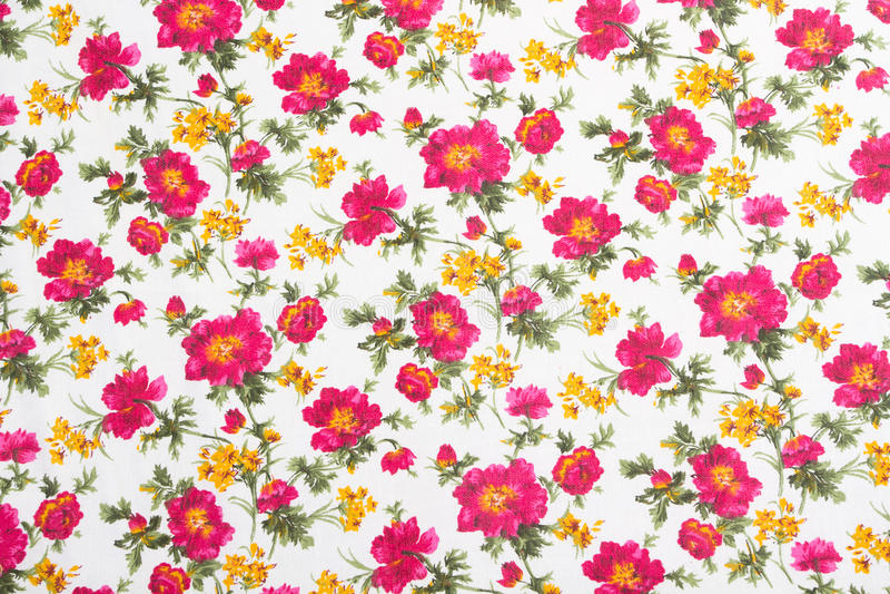 Bloemen patroon op naadloze doek. Het boeket van de bloem.