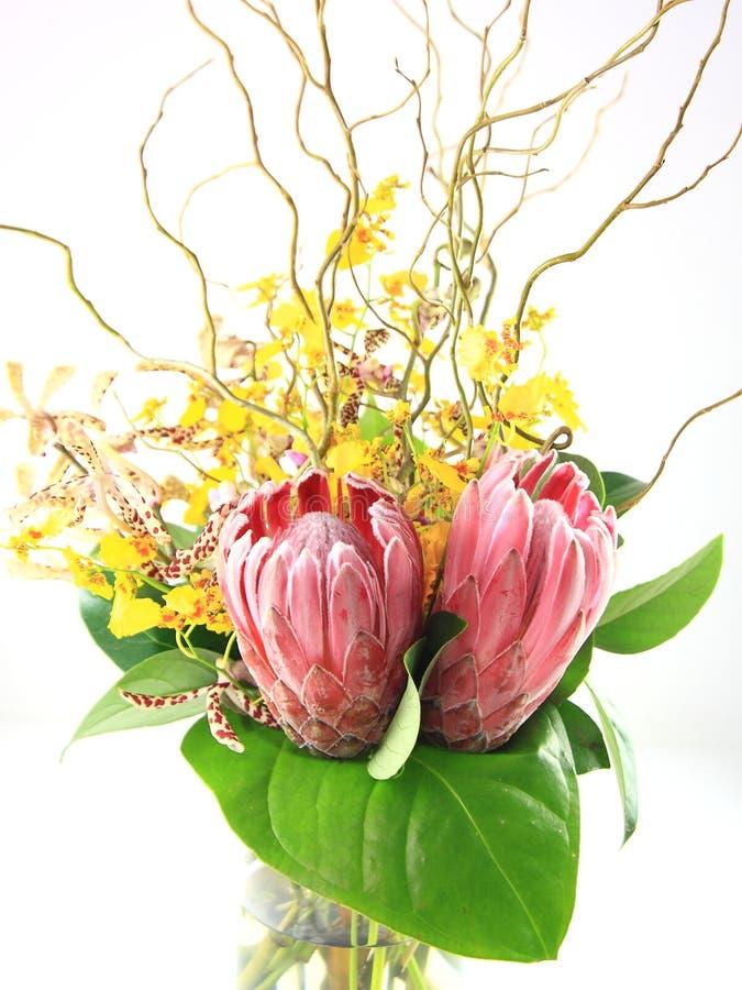 Bloemen regeling royalty-vrije stock foto