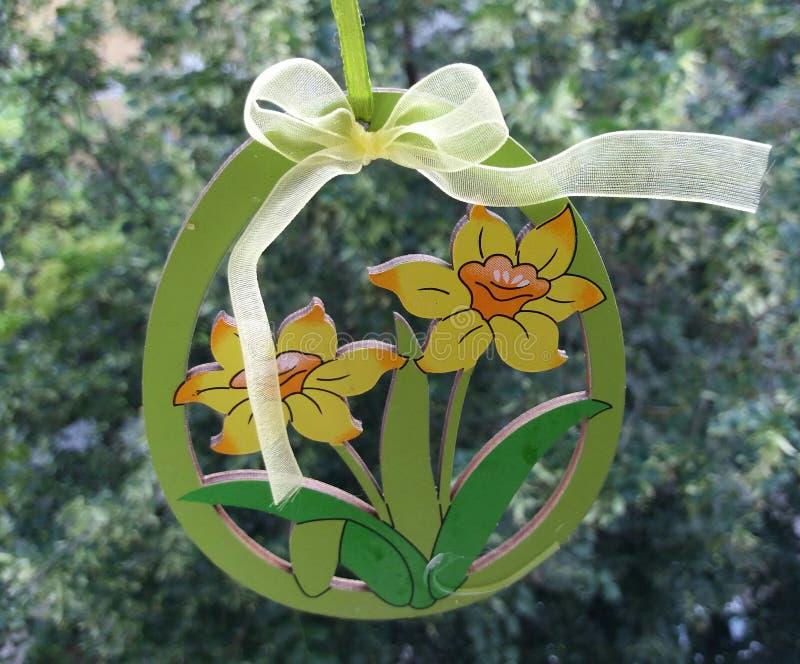 Bloemen van hout royalty-vrije stock foto