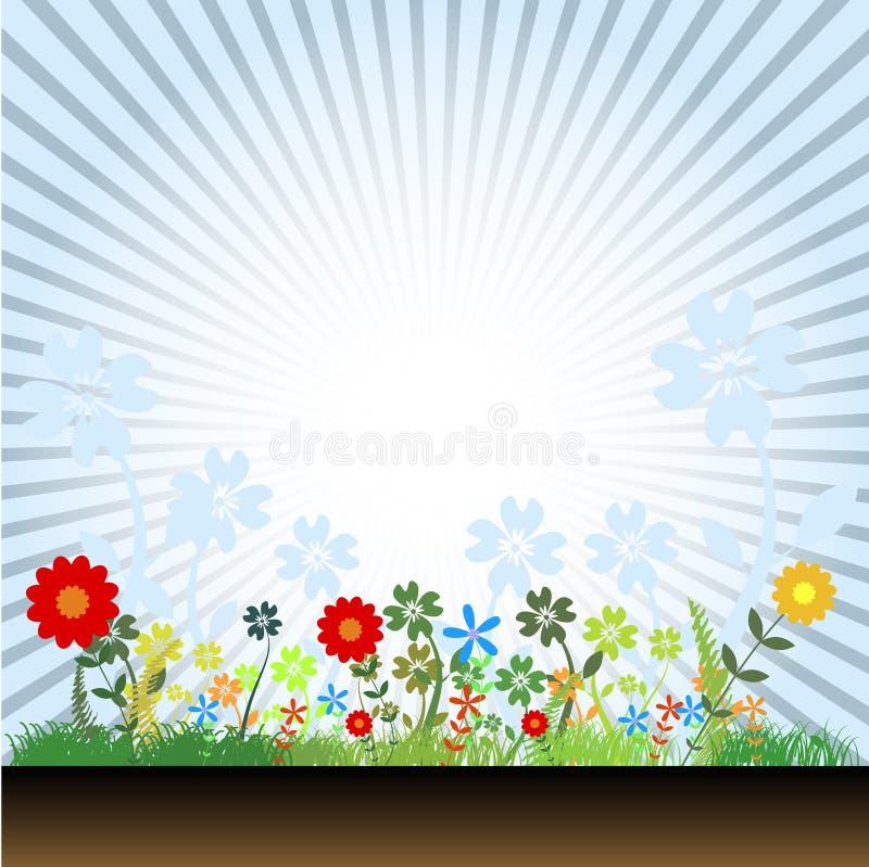 Bloemen Vector vector illustratie