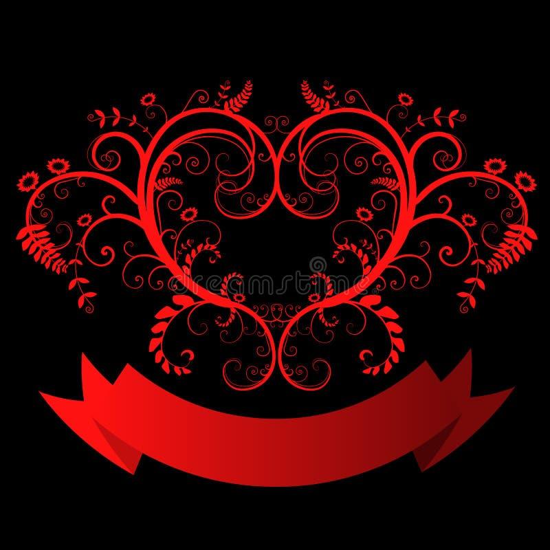 Bloemen Vector royalty-vrije illustratie