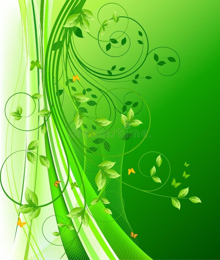 Bloemen vector als achtergrond vector illustratie
