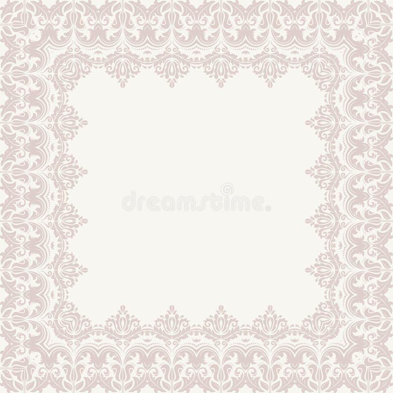 Bloemen vectorpatroon abstracte achtergrond vector illustratie
