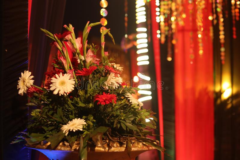 Bloemen voor decoratie stock foto's