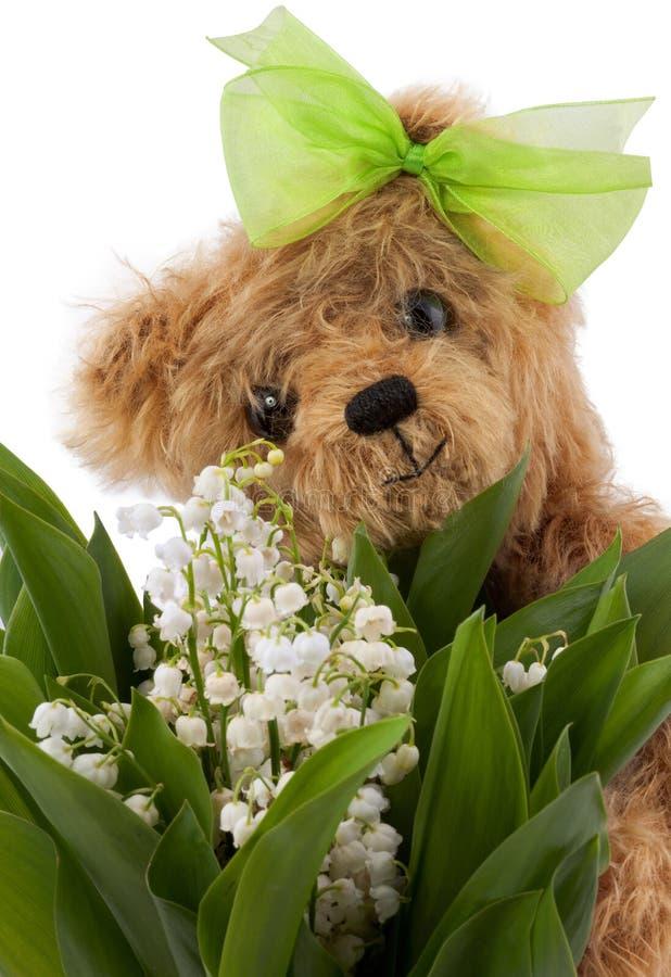 Bloemen voor mum! royalty-vrije stock fotografie