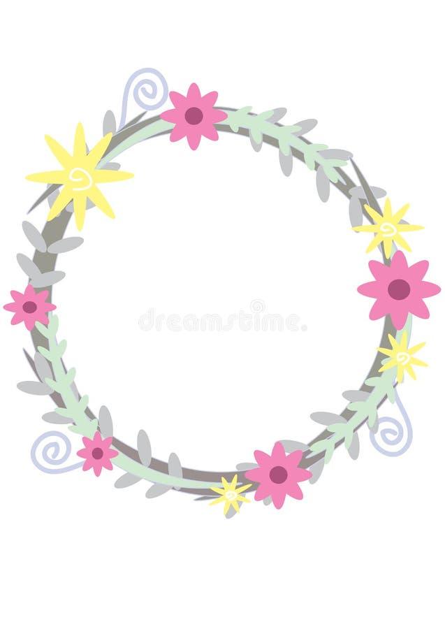 Bloemencirkel stock fotografie