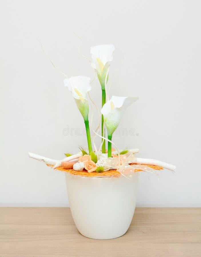Bloemendecoratie stock afbeeldingen