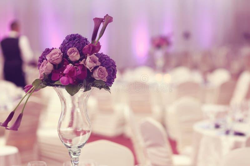 Bloemendecoratie stock foto's