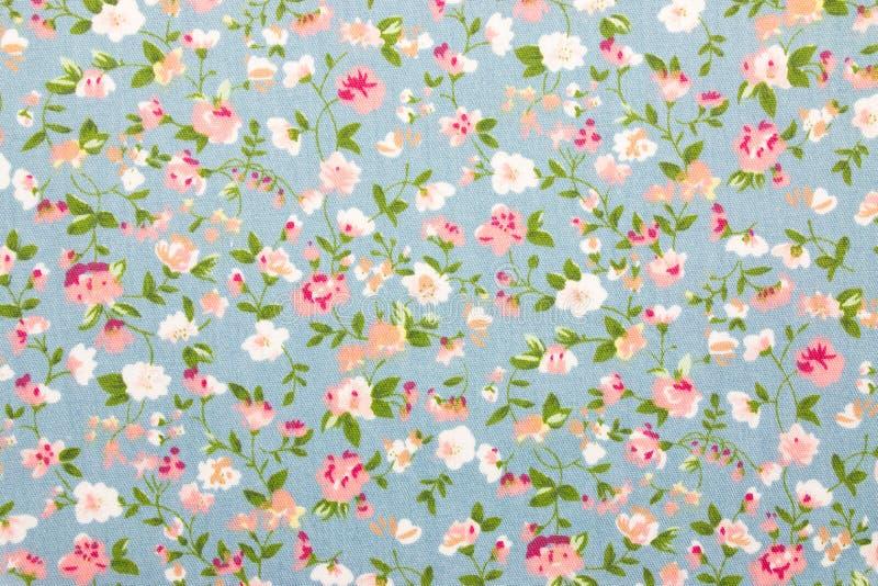 Bloemenstoffenachtergrond stock afbeeldingen