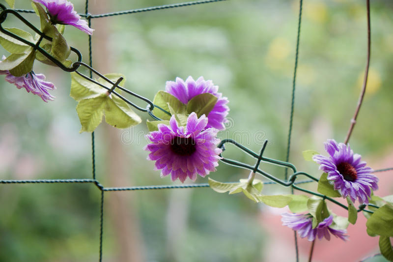 bloemketting stock foto