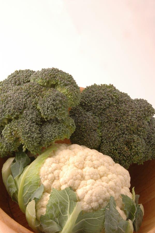 Bloemkool 262 Van Broccoli Royalty-vrije Stock Afbeeldingen