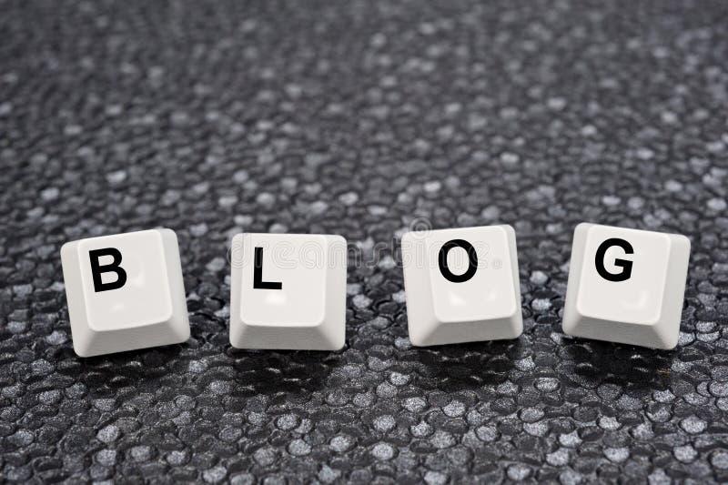 blogów klucze obraz stock