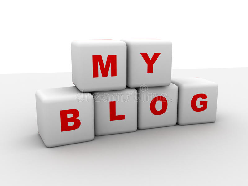 blog μου απεικόνιση αποθεμάτων